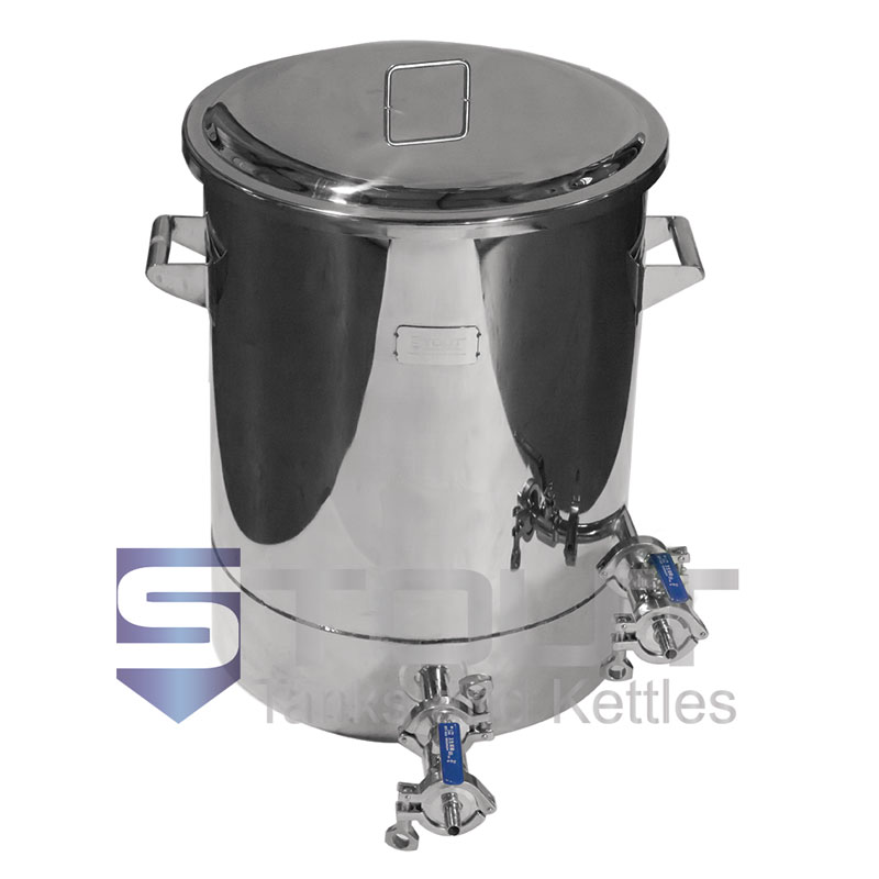 21.5 Gallon Brew Kettle - with TC Port, Laser Etchings (Electric)