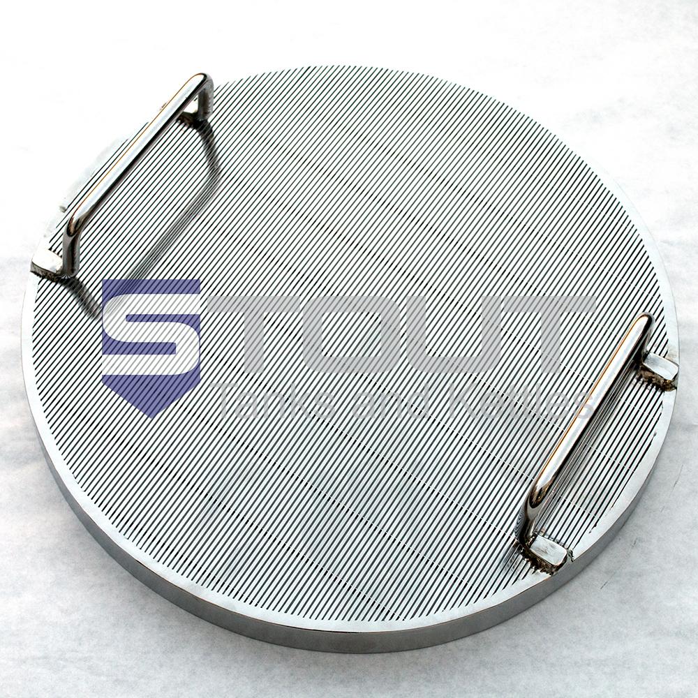 Wedge Wire / Slotted False Bottom (for 400mm Diameter Kettles)