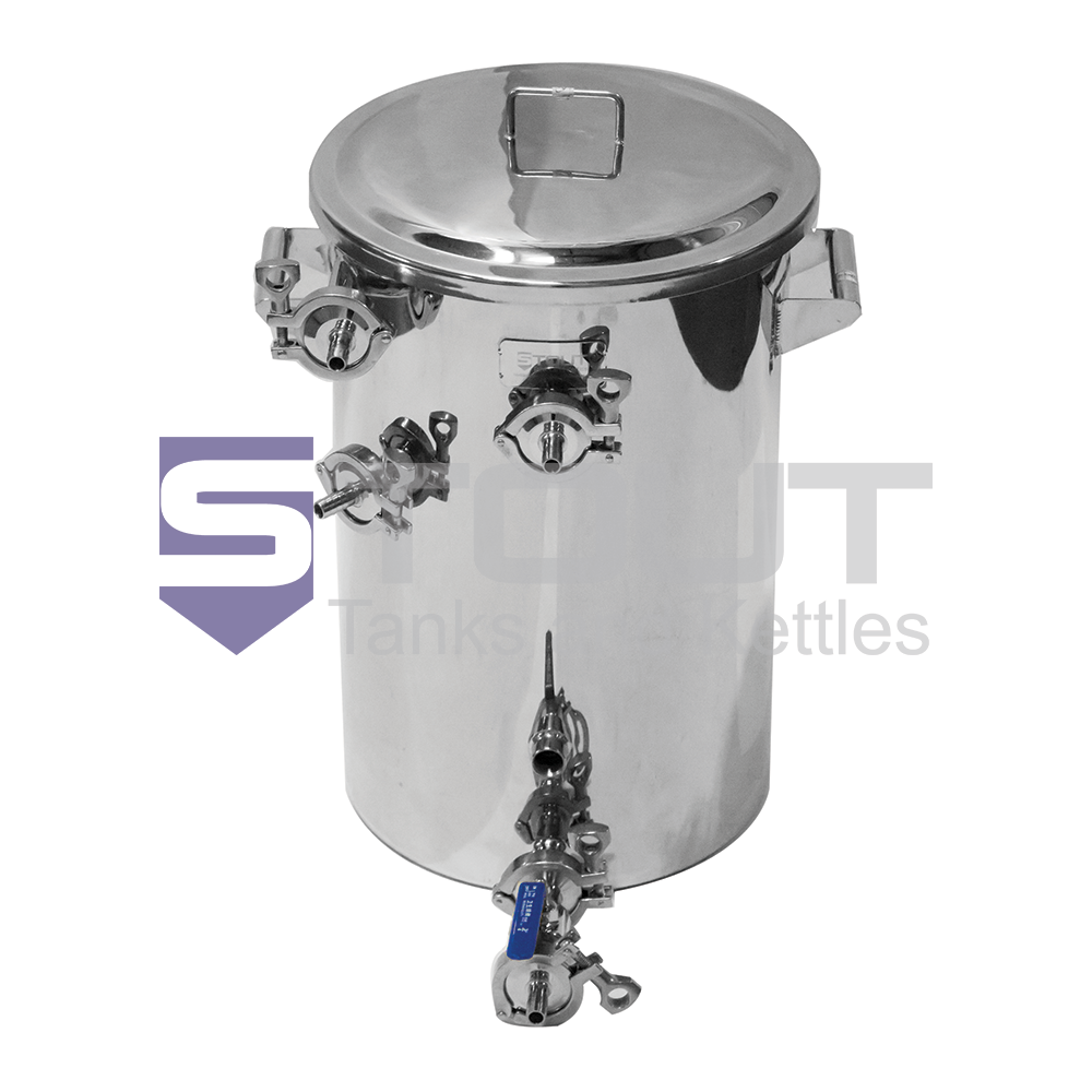 9.2 Gallon Electric Hot Liquor Tank (with Raised HERMS Coil)