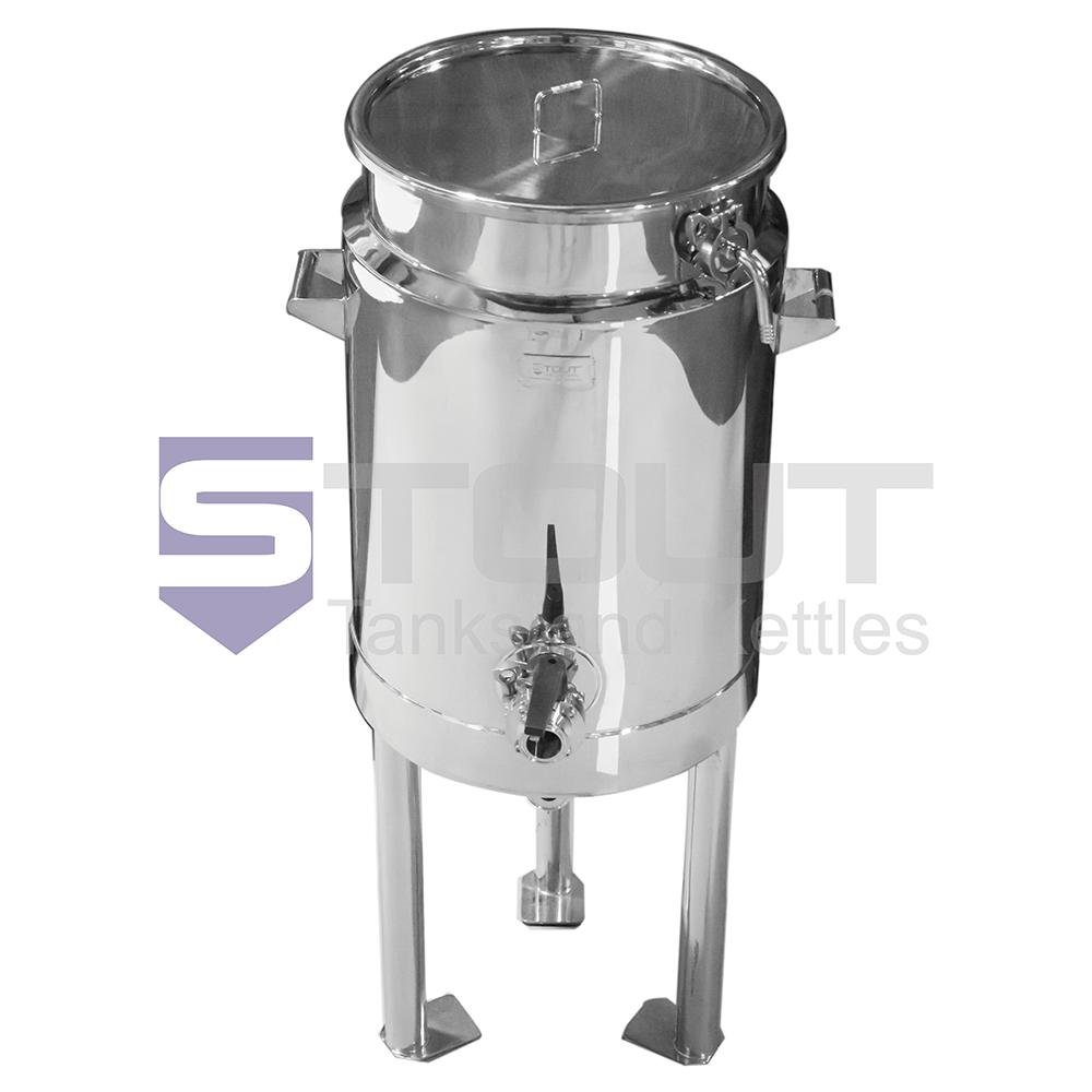 21.6 Gallon Insulated Mash Tun (on Legs)