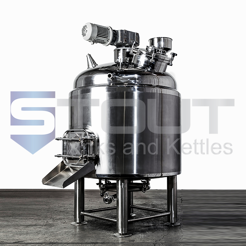 5 BBL / 155 Gallon Mash Tun (Insulated with Rakes and Plow)