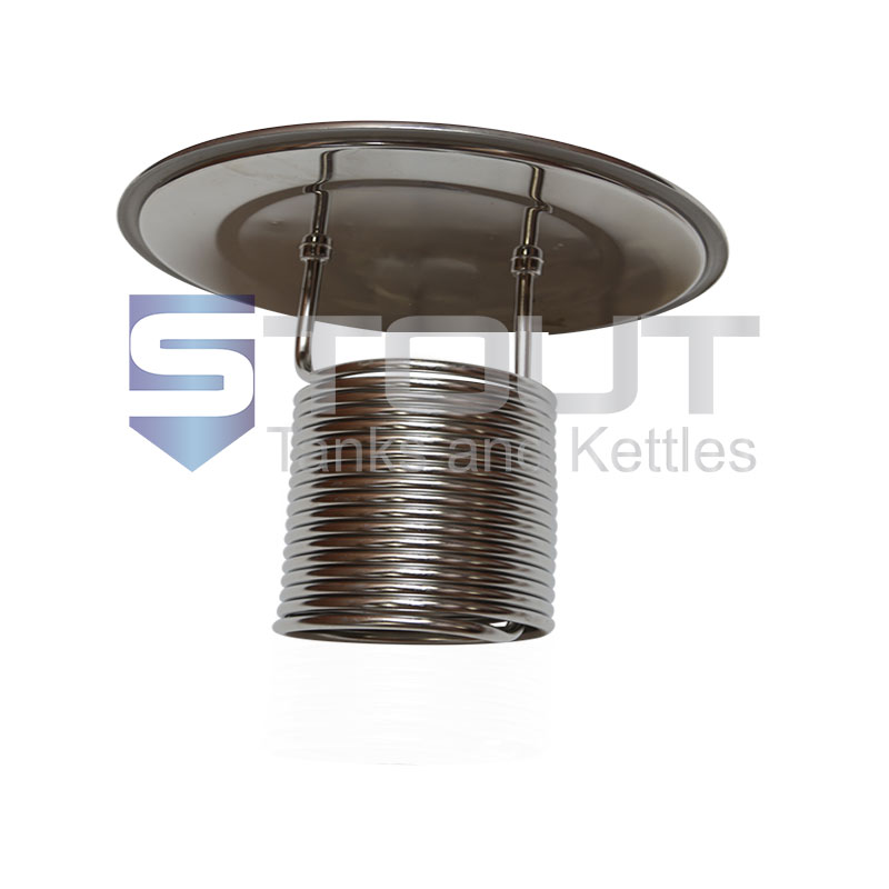 Lid with Cooling Coil (for a 299mm Diameter Fermenter)