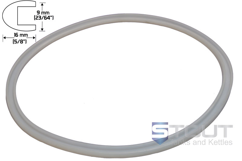 Gasket | for 400mm Diameter Kettles with Clamp Lid