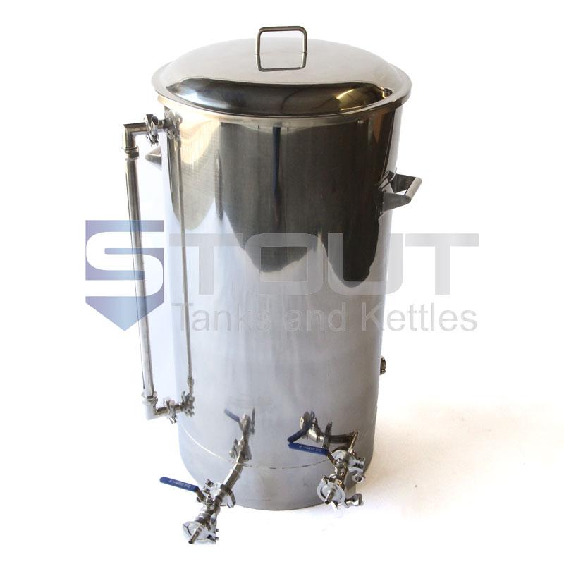 45 Gallon Brew Kettle - with 2 Element Ports, 1 Level Sensor Port (Electric)