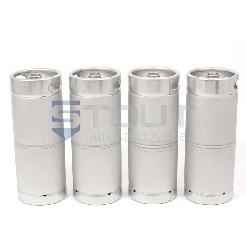 1 6 Barrel Kegs (Box of 4)