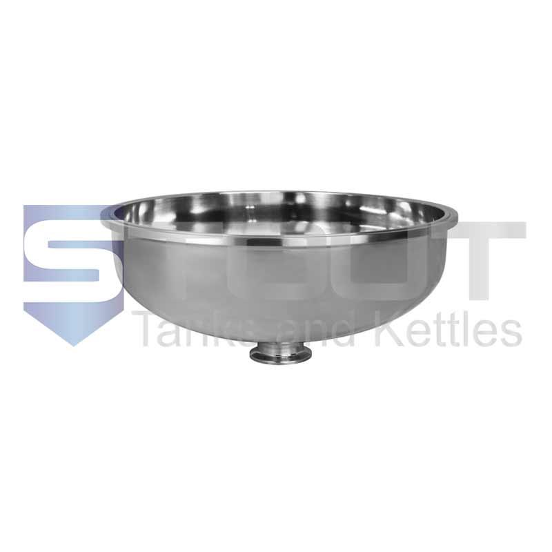 "Bowl Reducer | 10"" Tri Clamp x 1.5"" (304SS)"