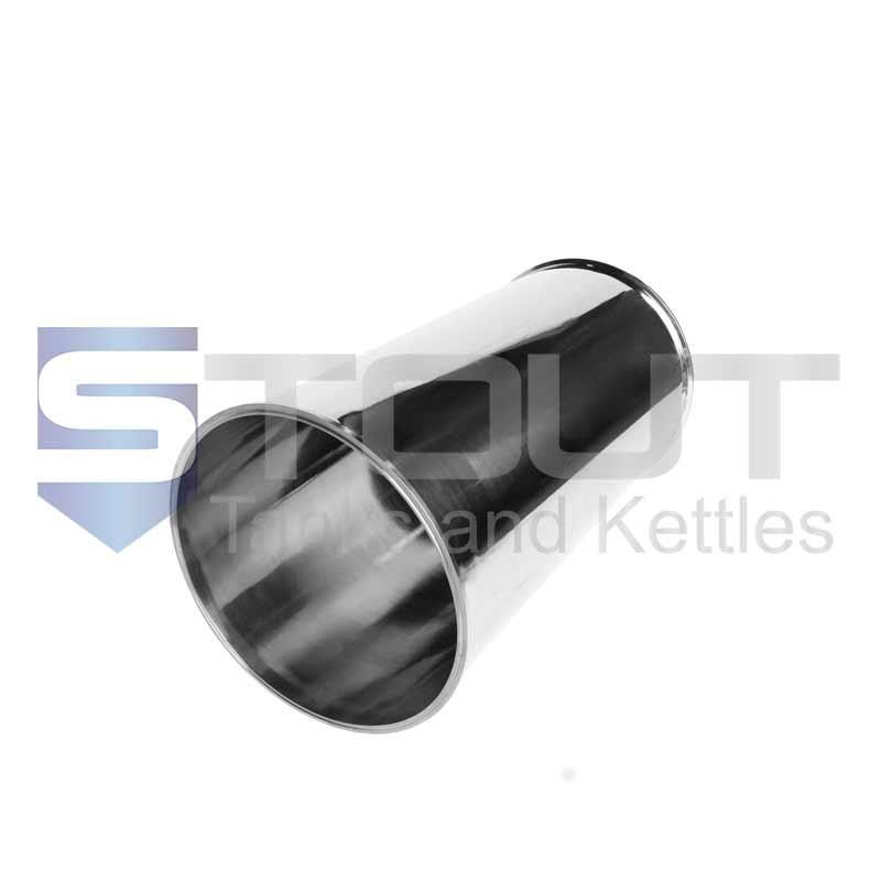 "Sanitary Spool   12"" Tri Clamp x 24"" Long (304SS)"