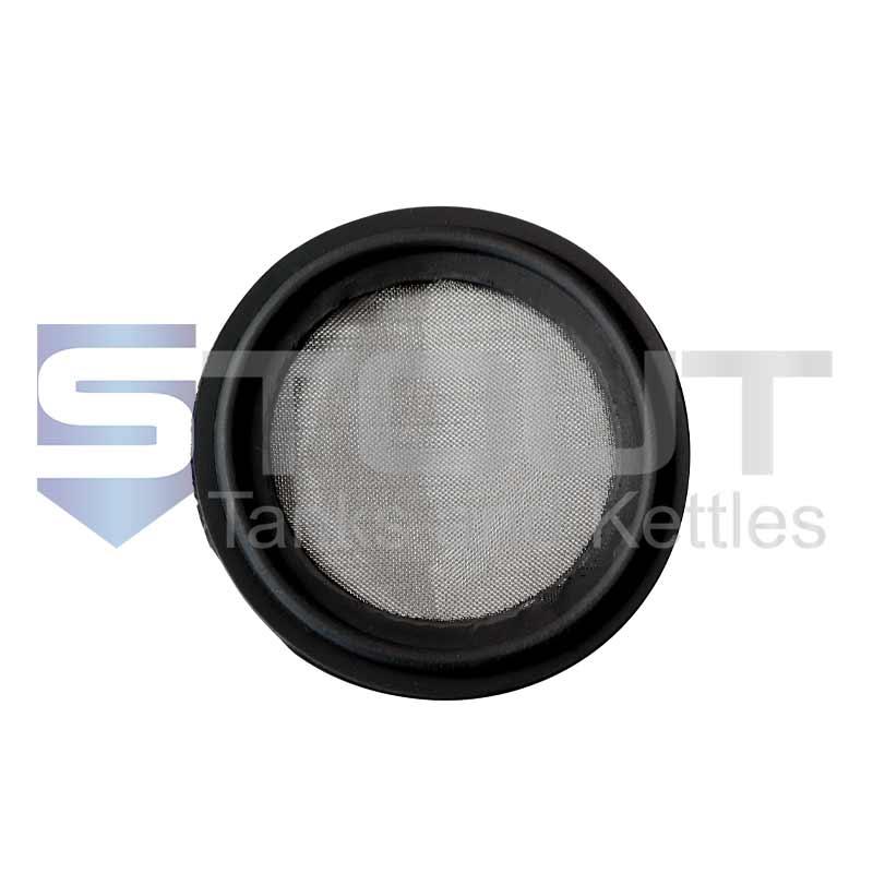 "BUNA Gasket | 2"" Tri Clamp, 150 mesh (FDA)"