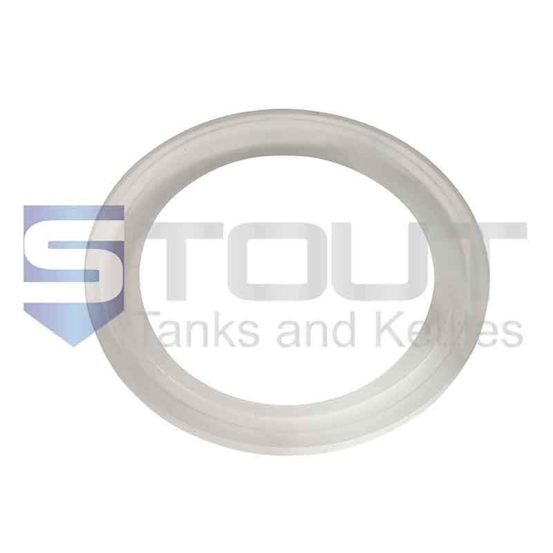 "PTFE Gasket | 2.5"" Tri Clamp (FDA)"