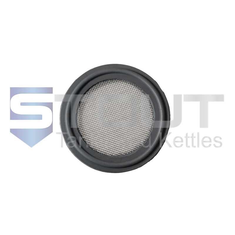 "Viton Gasket | 1.5"" Tri Clamp, 20 mesh (FDA)"