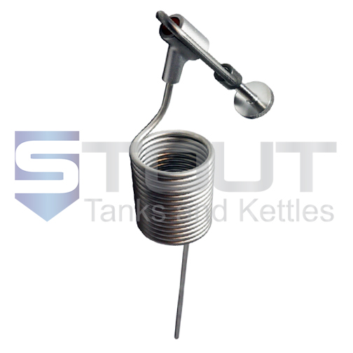 Pigtail for Perlick Sample Valves | 15 turn (304SS)