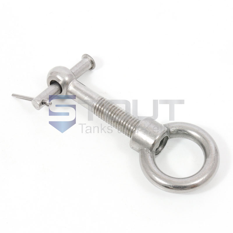 Ring Bolt Clamp Set (for Pressure Lids and Mash Tun Manways)