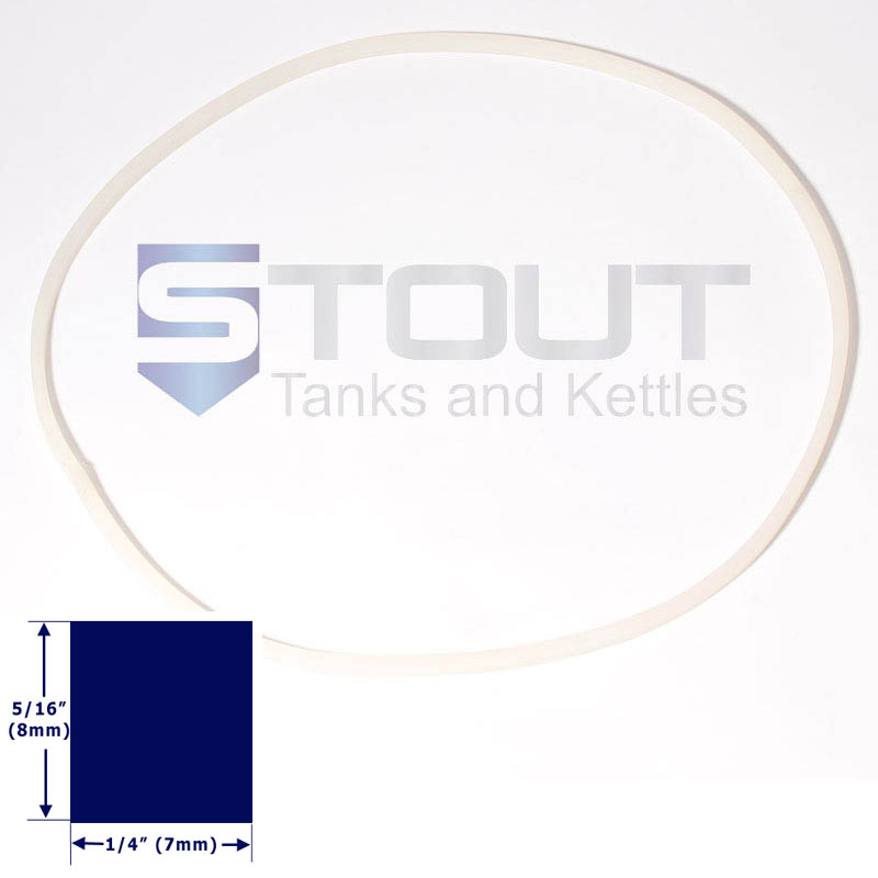 Lid Gasket for 450mm Brite Tanks
