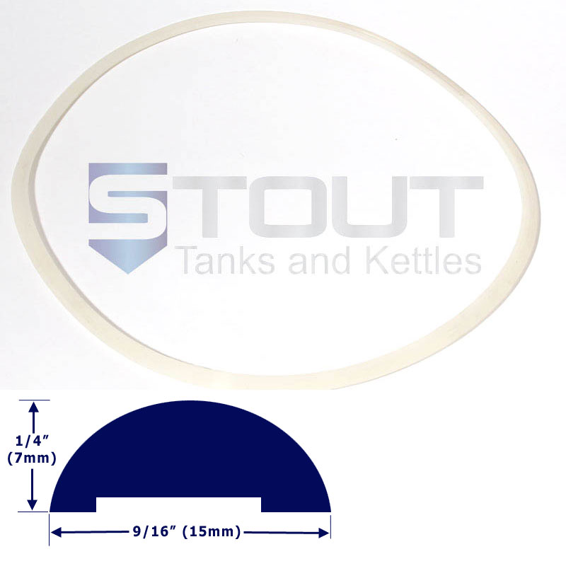 Lid Gasket (for 20 gal, 23 gal, and 27 gallon Fermenters)