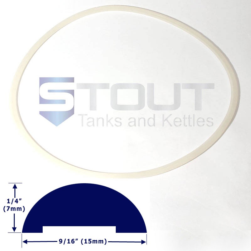 Lid Gasket (for 40 Gallon Conical Fermenters Freezer Model)