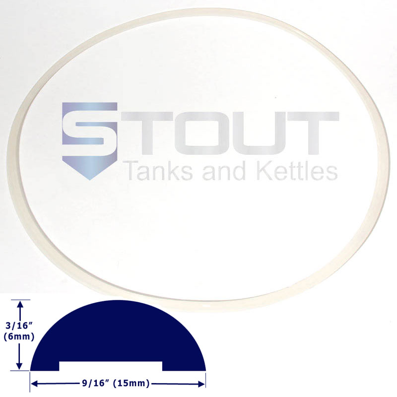 Lid Gasket (for wheeled 20 gallon, 23 gallon, 27 gallon Fermenters)