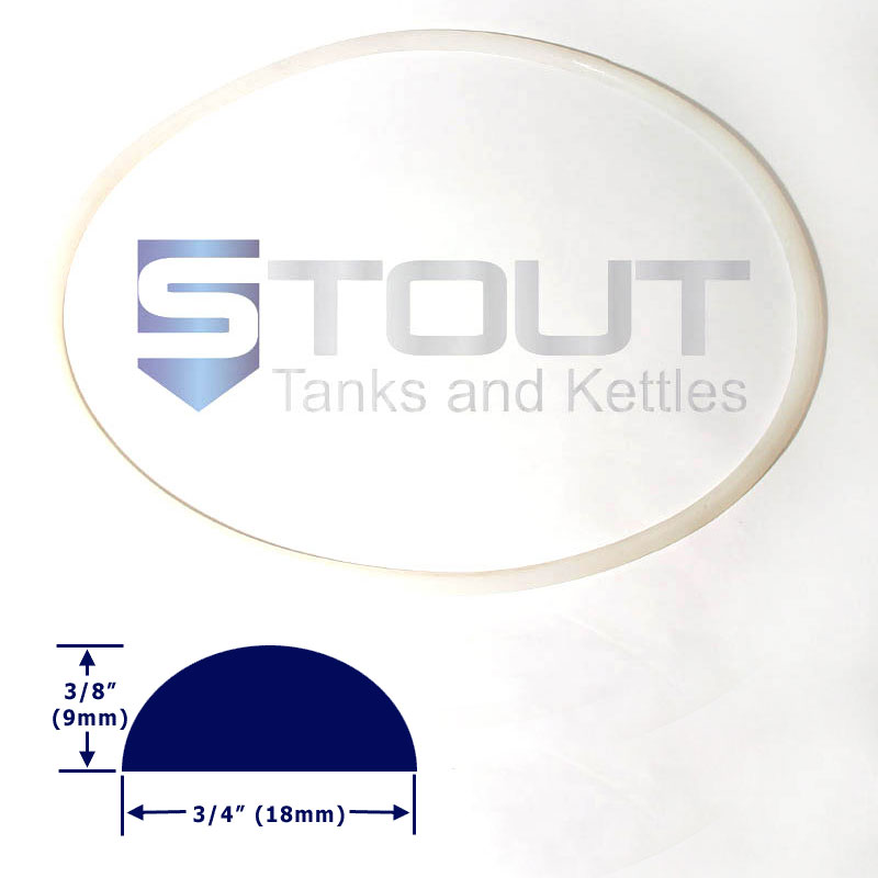 Lid Gasket (for 50-80 Gallon Conical Fermenters)