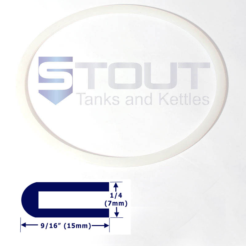 Lid Gasket | for 7 Gallon & 12 Gallon Conical Fermenter