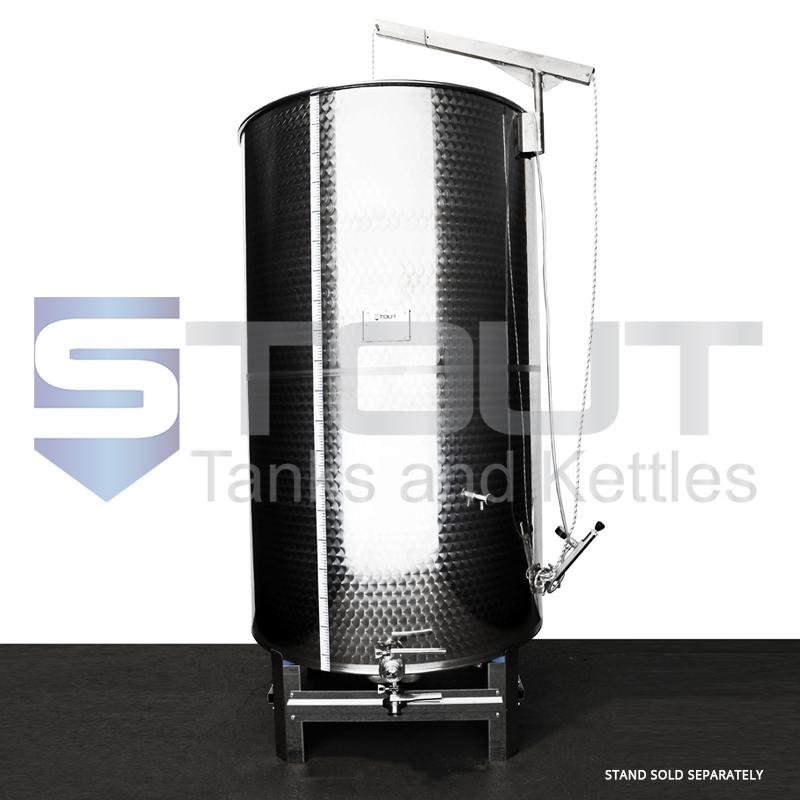 1500 Liter (396 Gallon) - Variable Capacity Tank (Round Bottom)