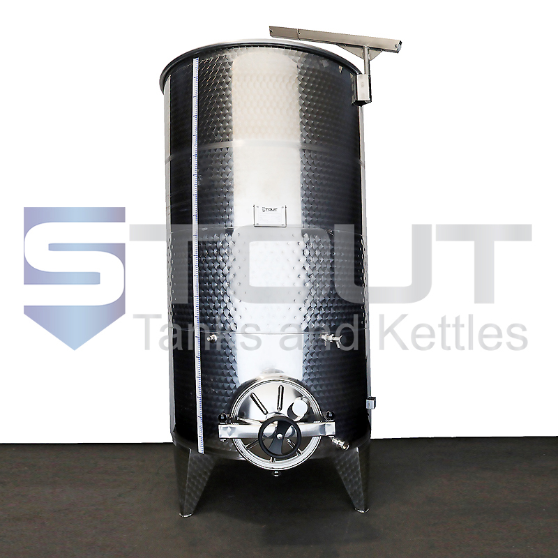 1500 Liter (396 Gallon) - Variable Capacity Tank (Round Bottom, Glycol-Jacketed)