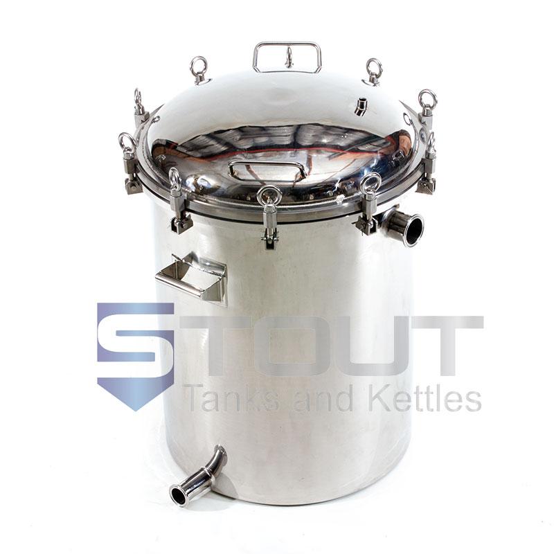 HB30PL (341) 30 Gallon Hop Back with Pressure Lid