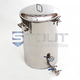 1 BBL Mash Tun (with Recirculating Fitting and Side Outlet)