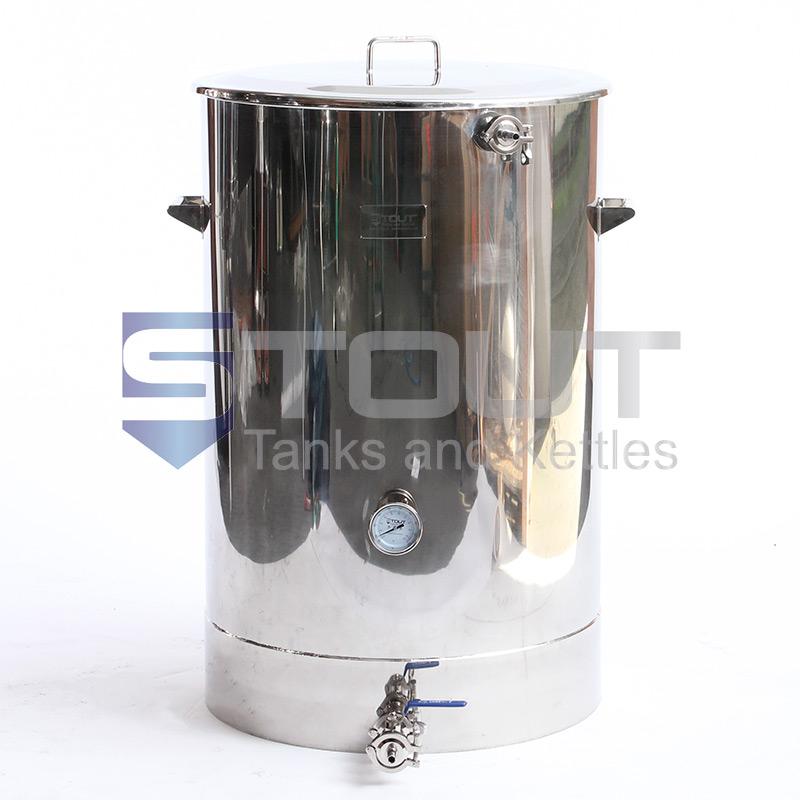 MT75TW-RF-BO (496) 75 Gallon Mash Tun with Bottom Outlet