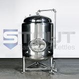 3 BBL Brite Beer Tank (Jacketed with Shadowless Manway)