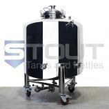 5 BBL Brite Tank with Wheels (Non-Jacketed)