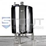7 BBL Brew Kettle - with Conical Bottom, Dome Top, Trub Dam, Right Orientation (Electric)