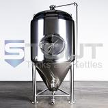 7 BBL Conical Fermenter / Unitank (Jacketed with Side Manway) - TOP SELLER!!