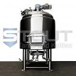 TOP SELLER!! - 7 BBL Mash Tun (with Rakes and Plows) - Right Side Orientation
