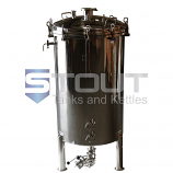 2 BBL Brite Tank with Cooling Coil (Non-Jacketed)