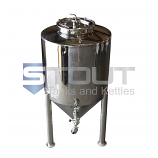 3 BBL / 125 Gallon Non-Jacketed Conical Fermenter (with Cooling Coil)