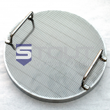 Wedge Wire / Slotted False Bottom (for 400mm Diameter Kettles)