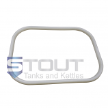 Side Rectangular Manway Gasket (for our Mash Tuns with Rakes Up To 20 bbls.)