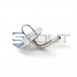 SP3TCX1/2HB-90 (988) 3-in TC Cap with 90 deg hose barb