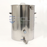 75 Gallon Mash Tun (with Recirculating Fitting and Side Outlet)