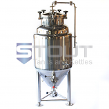 CF1BBL-JKT-TOP (8500) 1 BBL Jacketed Fermenter with Top Manway