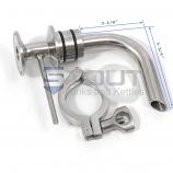 SP400RA (1240) Racking Arm for Fermenters