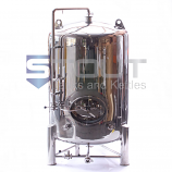 BB250MW (27) 7 bbl/250 Gal. Non-jacketed Brite Beer Tank with Side Manway