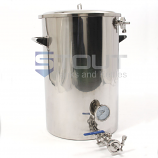 MT20TW-RF (465) 20 Gallon Mash Tun with Recirculating Fitting and Side Outlet