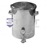 16 Gallon Brew Kettle - with Laser Markings (Direct Fire) - ONLY 1 LEFT!!