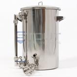 HL9TW-SG-EL1 (419) 9.2 Gallon Hot Liquor Tank with Sight Glass and Element Port