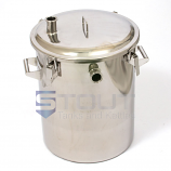 HB15CL (338) 15 Gallon Hop Back with Clamp Lid