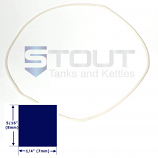 SP560LG Lid Gasket for 40 Gallon Brite Tanks