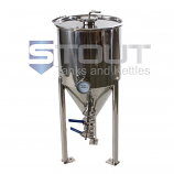 CF15TW-RA-3TCLID (202) 15.5 Gal. Conical Fermenter