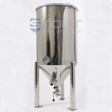 CF55TW-FV (290) 55 Gallon Conical Fermenter with Butterfly Valves