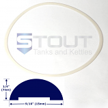 SP470LG (770) Lid Gasket for 40 Gallon Conical Fermenters Freezer Model