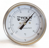 "Stem Thermometer | 3"" Face x 4.5"" Stem, 85 Degree"